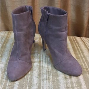 Forever 21 Tan Ankle Boots/Booties